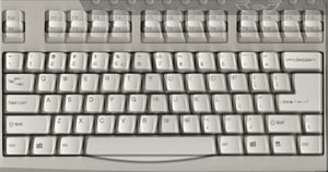 Overlaid keyboards