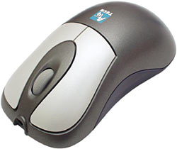 Rechargeable cordless optical mouse