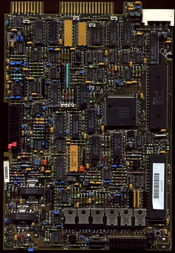 Circuit board scan