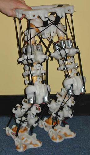 Creepy robot legs