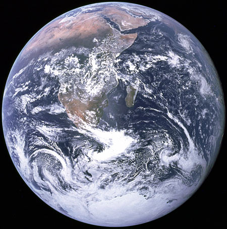 1972 Blue Marble picture