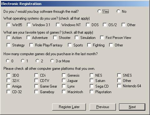 Carmageddon II registration requester
