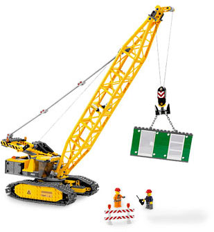 Lego Crawler Crane