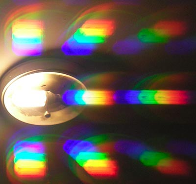 Compact fluorescent diffraction