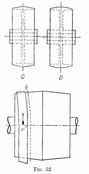 Crowned pulley diagram
