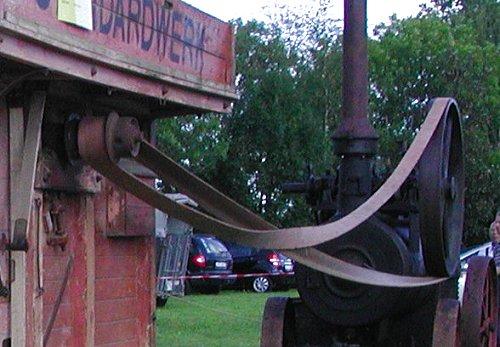Long drive belt