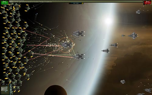 Gratuitous Space Battles wide view