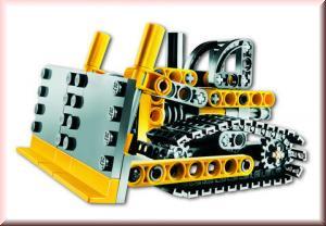 Lego 8259 Mini Dozer