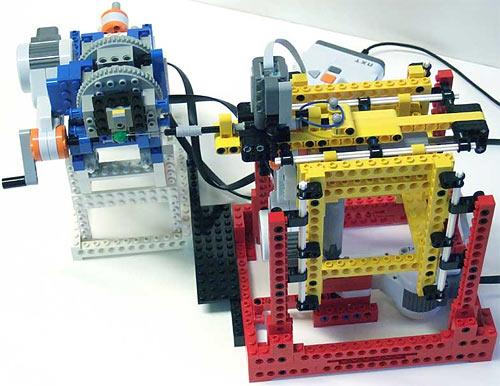 Lego 3D scanner