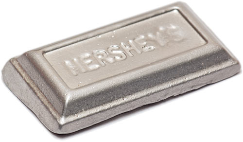 Fusible metal ingot