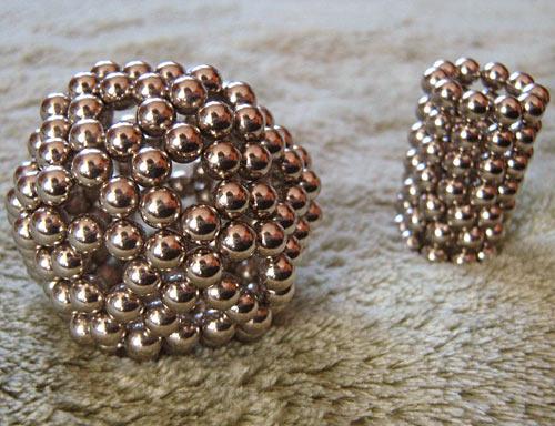 Neocube magnet sculpture