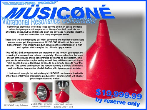 Musicone!