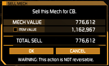 Selling a 'Mech