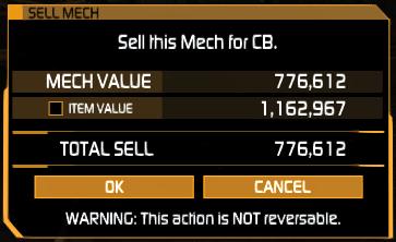 Selling a 'Mech