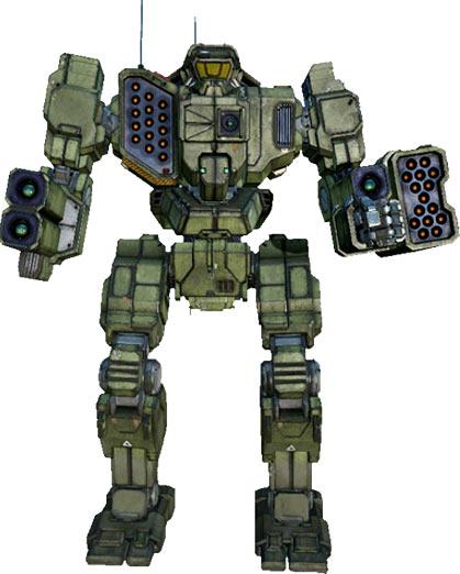 Trebuchet BattleMech
