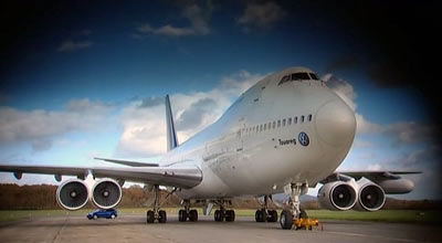 Funny looking 747