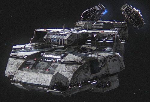 Pretty ship