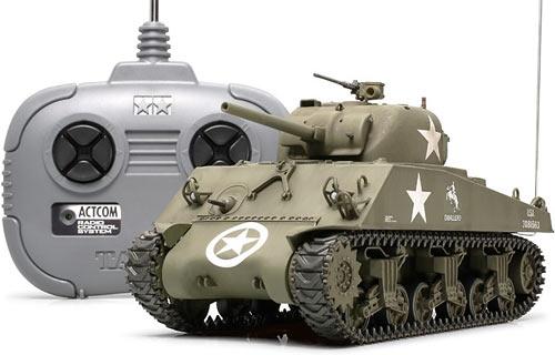 Tamiya Sherman tank