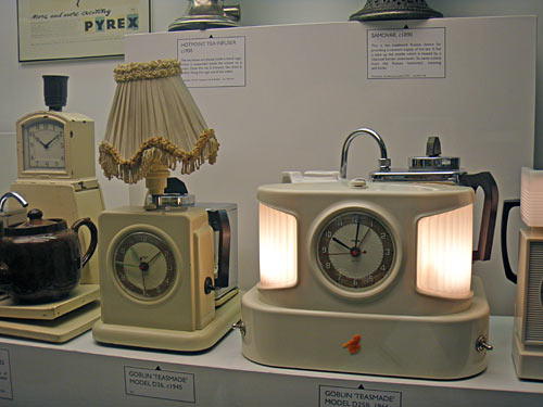 Science<br /> Museum teasmade display