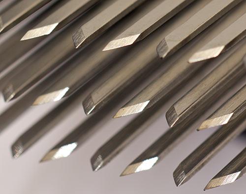 Meat tenderiser blades