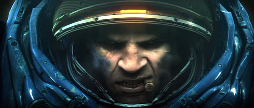 StarCraft II Marine