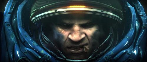 StarCraft II Marine