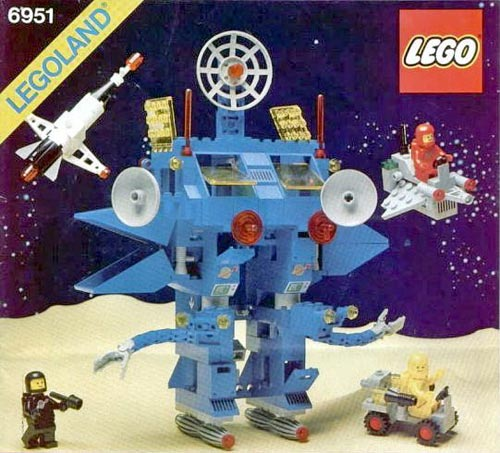 Lego Robot Command Center