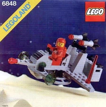 Lego Interplanetary Shuttle