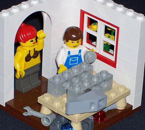 Lego vignette