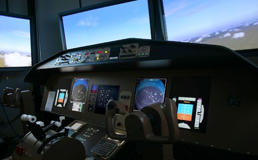 NASA flight simulator