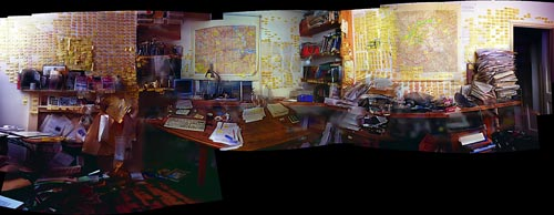 Will Self's office