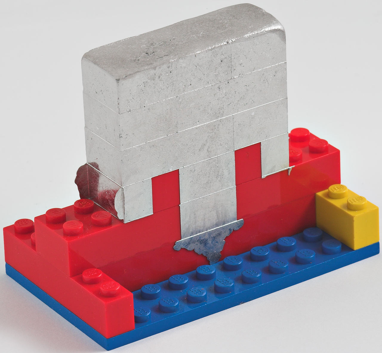 Steel Brick Mold : Casting metal in lego how to spot a psychopath