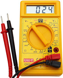 Cheap multimeter