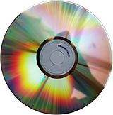 Pyrod gold CD reflection