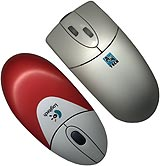 Logitech and A4 mouses