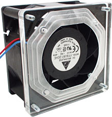 80mm Delta fan and adaptor