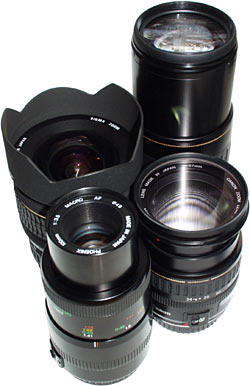 Four lenses