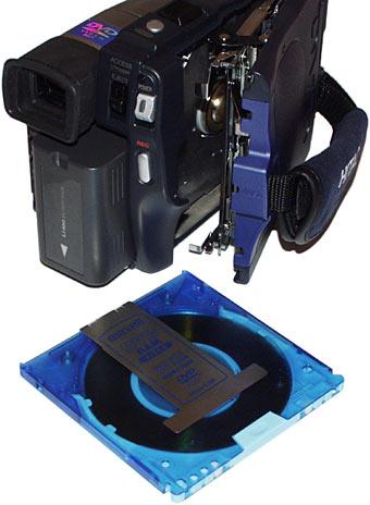 Review: Hitachi DZ-MV100A DVD Cam