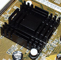 CUV266 heat sink