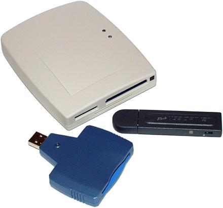 Flash memory storage comparison - Datafab KECF-USB versus JMTek ...