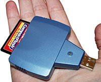 KECF-USB in hand