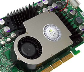 GeForce FX 5800 cooler