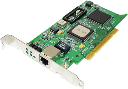 Gigabyte Ethernet Card on This  One Accton Cheetah Gigabit Ethernet Adapter   Model En1408t