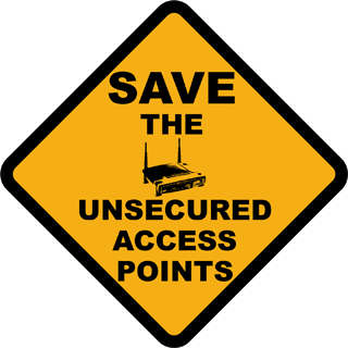 Save The Unsecured Access Points!