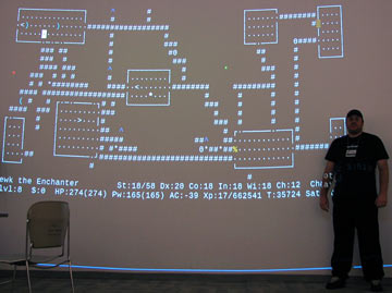 NetHack on the big screen!