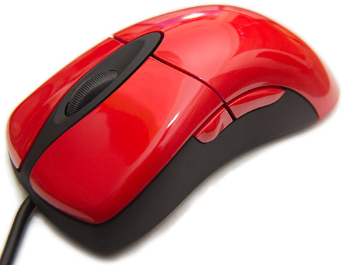 Red Intellimouse Explorer 3