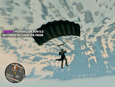 Falling through the universe in Saints Row 3