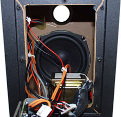 XPS 510 subwoofer interior