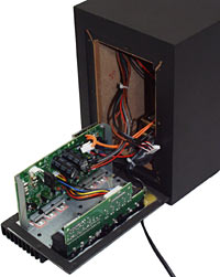 XPS 510 subwoofer open