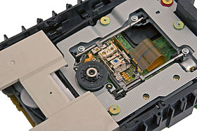 Optical drive innards